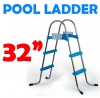 32 Inch Above Ground Swimming Pool Ladder - A Frame